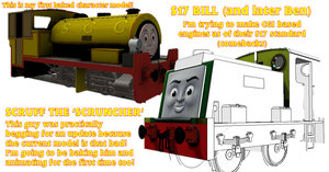 Parts, Progression and a Paragraph :D by TheDirtyTrain1