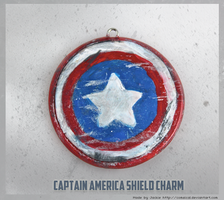 Captain America Pendant by Comsical