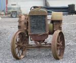 Rusty Tractor 4 - front by fuguestock
