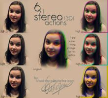Six + 1 stereo 3D actions by shadrina-v