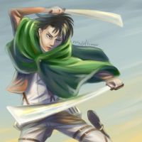 Rivaille by ravenclawinatardis