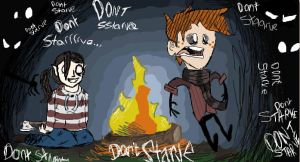 Don't Starve colab by bedheadd