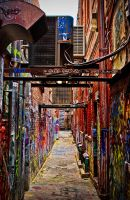 Ann Arbor alley by theCrow65