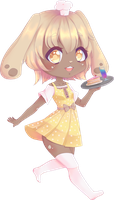 Honey Chibi~ :commission: by Rainbow-tan