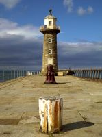 Whitby Harbour by unicorn1306