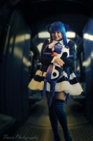 Stocking from [Panty and Stocking with Garterbelt] by FarorePhotography