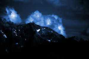 Dark Blue Mountains 01 by Limited-Vision-Stock
