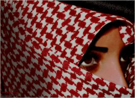 arab eyes by Mashary