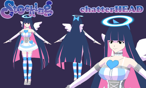Stocking Angel WIP 2 by chatterHEAD
