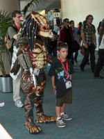 Predator at Comic-Con by OneRadicalDude