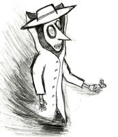 Plague Doctor 1 by Zed-of-Venice