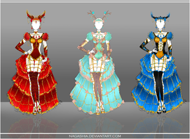 Adoptable Outfit Auction Set CLOSED by Nagashia