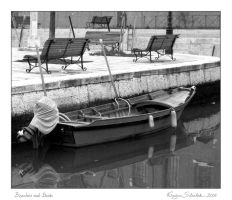 Benches and Boats by siskin