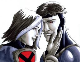 Rogue and Gambit X-Men Evolution PCC by thecreatorhd