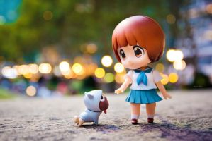 Nendoroid Mako and Guts by frasbob