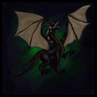 Black Dragon by Pseudolonewolf