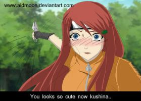 . I LoVe You KushiNa . Kushina by aidmoon