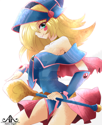 Dark Magician Girl by AnzuAngel