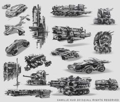 vehicle design CamilleKuo by camilkuo
