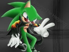 Scourge The Hedgehog by MonicaShadowXD