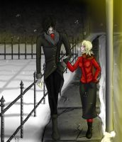 Hellsing: Holiday Night Stroll by ChunkyMustard