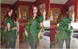 Poison Ivy Costume by TrueAlaso