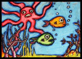 Acid in the Aquarium by Lydia-distracted