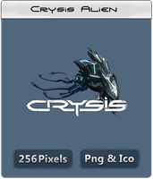 Crysis Alien Icon by thedevilbringer666