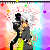 Happy Valentines O u O by JinxRuu