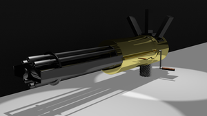 gatling gun WIP 2 by jensdevries