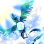 Wild Articuno Appeared by tehgamesayshi