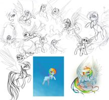 So Many Ways to Fail At Rainbow Dash by sererena