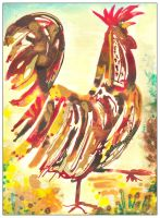 Bejewelled Cockerel by amyhooton