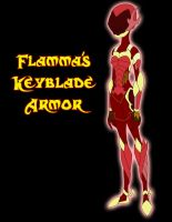 Flamma's Keyblade Armor by Xelku9