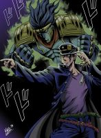 Kujo Jotaro - Color version. by YayoArellano