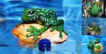 Ribbit ribbit... by WeirdCatInAHat