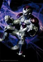 Frieza's Maximum power figure by jeffbedash325