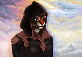 Khajiit From The Dark Brotherhood by Frosya-Ural