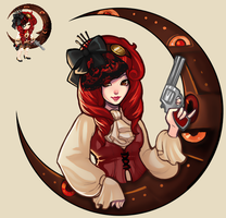Gaia Steampunk - Colored by neyali