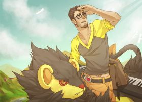 PKMNR: On the Road by MrBoxerBriefs