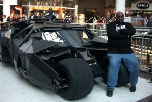 Sitting On The Batmobile by Neville6000