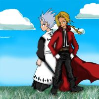 omg a crossover fma+bleach by vatenkeist