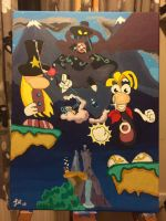 Mr Dark returns, Rayman to the rescue! by jimtastic1