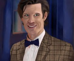 11th Doctor...I'll  miss u Mr. Silly butt :3 by Youholic
