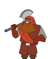 Executioner transformation animation - colors by gnomKOLIN