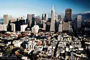 San Francisco Skyline by Nightline