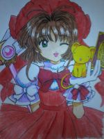 Cardcaptor Sakura by thewalkingpencil