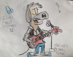 Bill on Vocals and Guitar by WolfGang-Jake