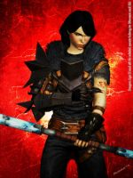 Dragon Age II: Lilith Hawke 'The Unyielding' by Berserker79