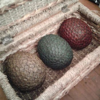 Game of Thrones Dragon Eggs (full set) by BigMamaBear